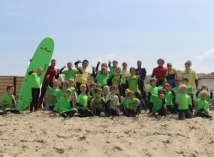 Surfkamp Noordwijk Surfschool Kamp Slapen Surfles Surfkampen